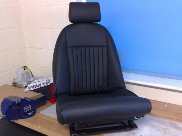 Triumph Spitfire Iv 1500 Gt6 Mk3 Front Seat Cover Kit Leather