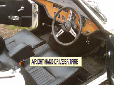 Triumph Spitfire Iv 1500 Gt6 Mk3 Dash Edging Kit Right